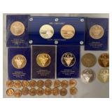 Zeppelin, 50th Anniversary Lakehurst Medallions