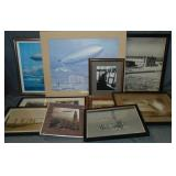 Zeppelin Related Photo and Print Lot