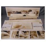 Lot of Airship & Zeppelin Related Panoramic Photos