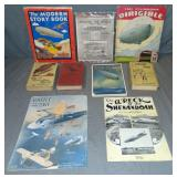 Airship Related Book Lot, Sheet Music and More