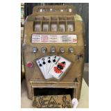 Jokers Wild 25 Cent Slot Machine.