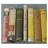 Detective & Mystery Fiction. Lot of (7).