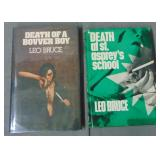 Leo Bruce Lot of Two First Editions in DJ