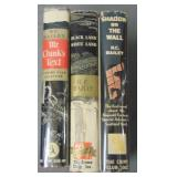 H. C. Bailey. Lot of Three First Editions in DJ
