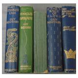 Guy Boothby Lot of Five First Editions U. K.
