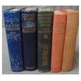 Guy Boothby Lot of Five Volumes.