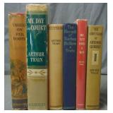 Arthur Train. Lot of First Editions.