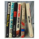 Ritchie Perry. Lot of (6) 1st Editions in DJ