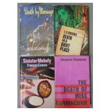 Detective and Mystery Fiction. Lot of Four 1sts.