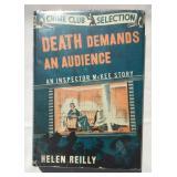 Helen Reilly. Death Demands an Audience. 1st DJ.