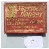 Sherlock Holmes Card Game.