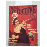 All Detectrive Magazine. Erle Stanley Gardner.