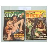 Private Detective Pulp. Lot of Two.