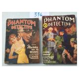 Phantom Detective Lot of Two.