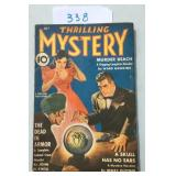 Thrilling Mystery, July 1941.
