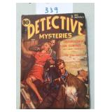 Detective Mysteries. Scarce. November 1938.
