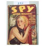 Spy Novels Magazine. Feb. 1935.