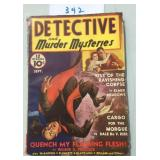 Scarce. Detective and Murder Mysteries.