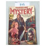 Thrilling Mystery May 1938.