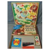 Wanted Dead or Alive.. Western Board Game.