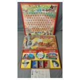 Johnny Ringo. Board Game. Transogram.