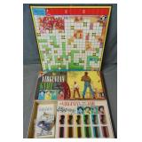 The Virginian Game. Transogram Board Game.