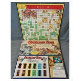 Overland Trail. Transogram Board Game.