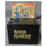 The Munsters. Spanish Made Bank in Box.