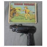 Ronson Repeater Cap Pistol Boxed.