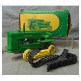 John Deere Die Cast Tractor Boxed.