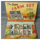 Manoil. The Happy Farm Set Boxed.