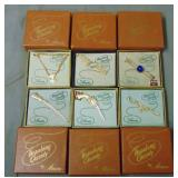 Hopalong Cassidy. Lot of Six Pieces of Jewelry Box