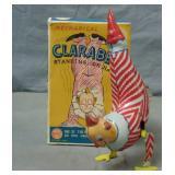 Marx. Scarce Clarabell Clown Wind Up in Box.