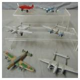 Tootsie Toy Airplane Lot of (6).