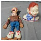 Howdy Doody. Lot of Two.