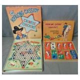 Hopalong Cassidy. Lot of Two Games.