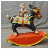 Wind Up Bucking Donkey.
