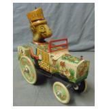 Marx. Tin Lithograph Wind Up Car.