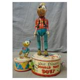 Marx Disney Duet. Wind Up.