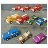 Lot of Newer Tootsie Toy Vehicles.