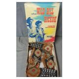 Wild Bill Hickock Holster Set in Scarce Box.