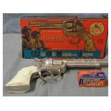 Wild Bill Hickock. Cap Pistol. Boxed.
