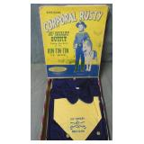 Rin Tin Tin. 101st Cavalry Outfit. Boxed.