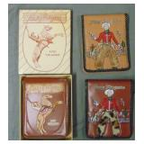 Roy Rogers Wallet Lot of Three.