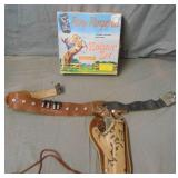 Roy Rogers Holster Set Boxed.