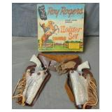 Roy Rogers. Holster Set Boxed.