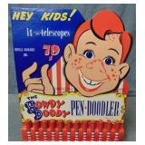 Howdy Doody Pen Doodler. Original Store Display.