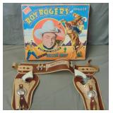 Roy Rogers Boxed Pistol and Holster Set.