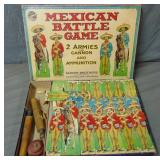 Scarce Parker Brothers Mexican Battle Game.