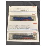 Marklin HO 3391 & 3489 Express Locomotives